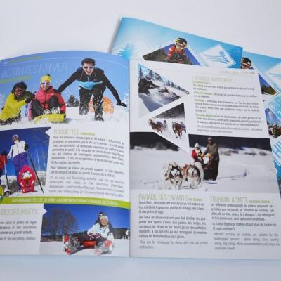 Savoie Grand Revard - brochure hiver 2015 -2016