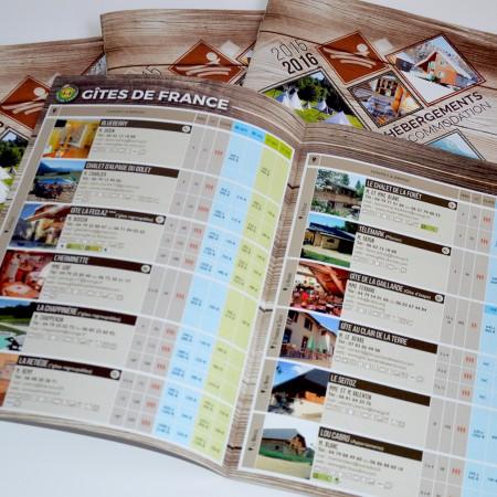 Savoie Grand Revard - brochure hébergement 2015 -2016